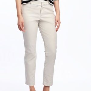 Mid-rise Pixie Chino Pant Never Worn!